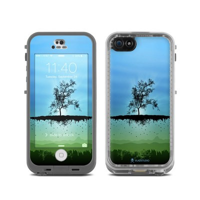 LifeProof iPhone 5C Fre Case Skin - Flying Tree Blue