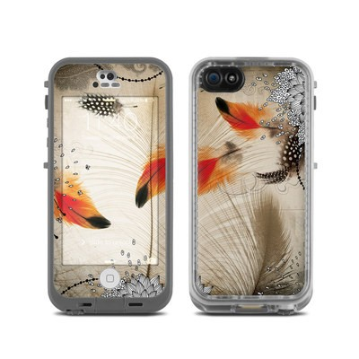 LifeProof iPhone 5C Fre Case Skin - Feather Dance