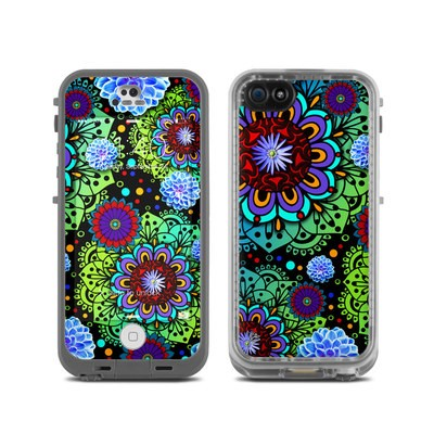 LifeProof iPhone 5C Fre Case Skin - Funky Floratopia