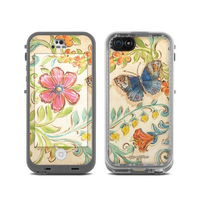 LifeProof iPhone 5C Fre Case Skin - Garden Scroll