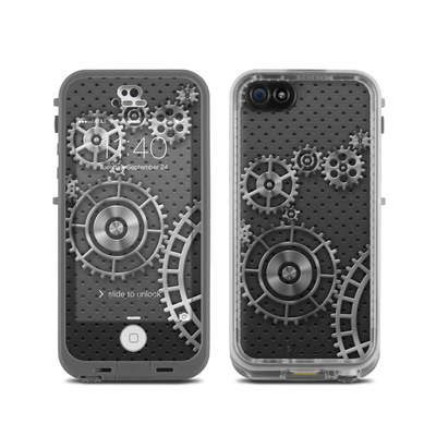 LifeProof iPhone 5C Fre Case Skin - Gear Wheel