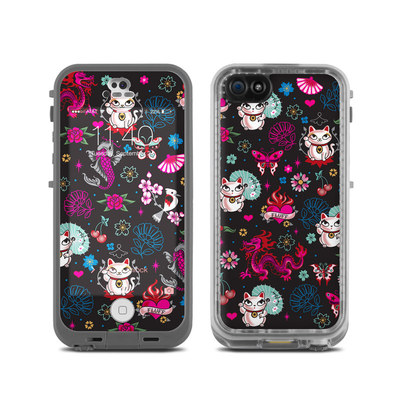 LifeProof iPhone 5C Fre Case Skin - Geisha Kitty
