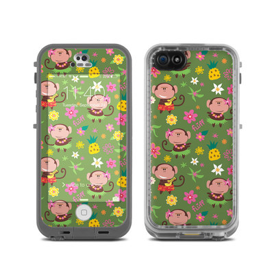 LifeProof iPhone 5C Fre Case Skin - Hula Monkeys