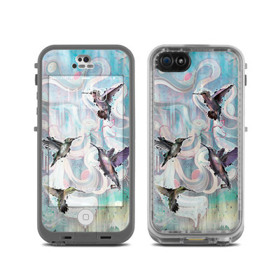 LifeProof iPhone 5C Fre Case Skin - Hummingbirds