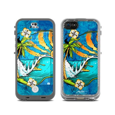 LifeProof iPhone 5C Fre Case Skin - Island Playground
