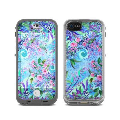 LifeProof iPhone 5C Fre Case Skin - Lavender Flowers