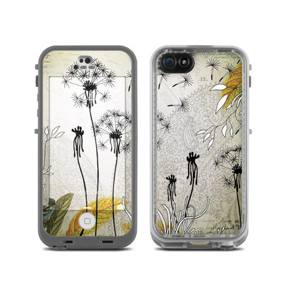 LifeProof iPhone 5C Fre Case Skin - Little Dandelion