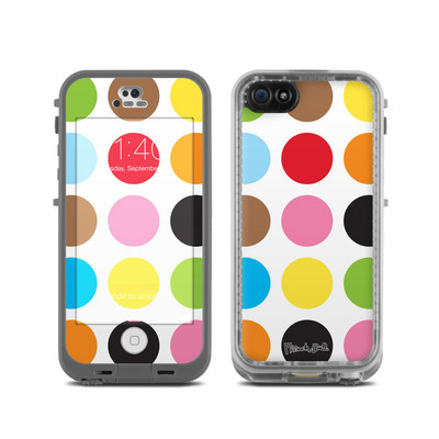 LifeProof iPhone 5C Fre Case Skin - Multidot