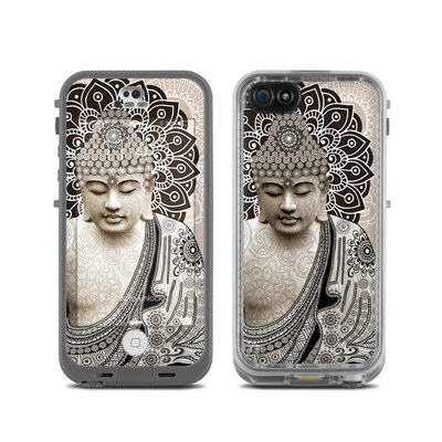 LifeProof iPhone 5C Fre Case Skin - Meditation Mehndi