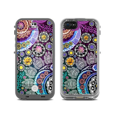 LifeProof iPhone 5C Fre Case Skin - Mehndi Garden