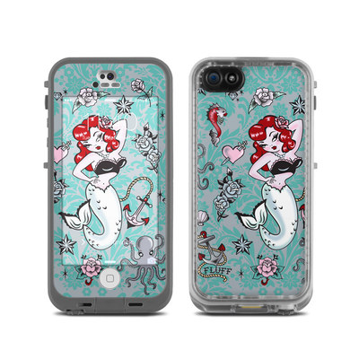 LifeProof iPhone 5C Fre Case Skin - Molly Mermaid