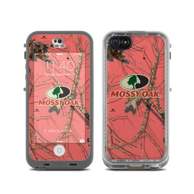Lifeproof iPhone 5C Fre Case Skin - Break-Up Lifestyles Salmon