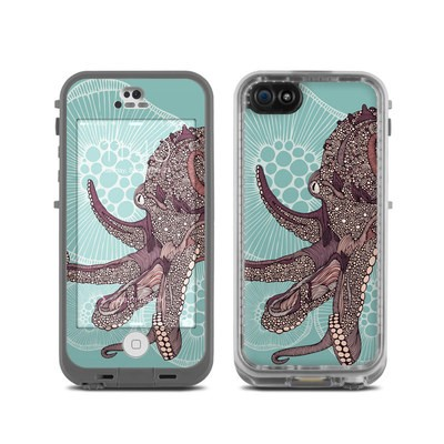LifeProof iPhone 5C Fre Case Skin - Octopus Bloom