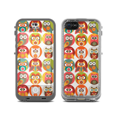 LifeProof iPhone 5C Fre Case Skin - Owls Family