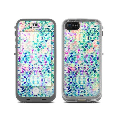 LifeProof iPhone 5C Fre Case Skin - Pastel Triangle