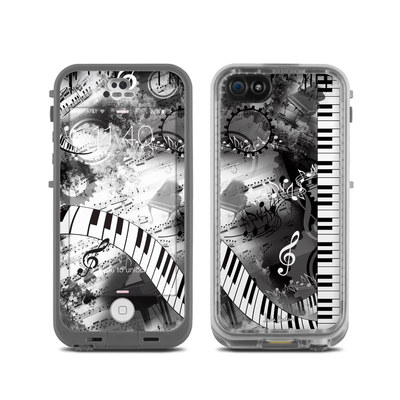 LifeProof iPhone 5C Fre Case Skin - Piano Pizazz