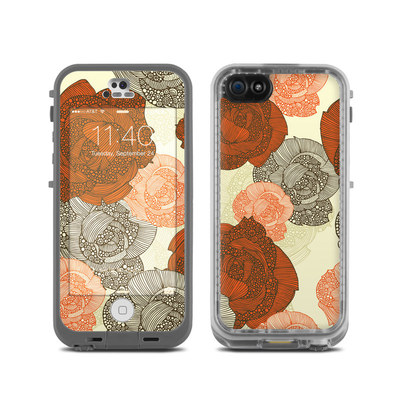 LifeProof iPhone 5C Fre Case Skin - Roses