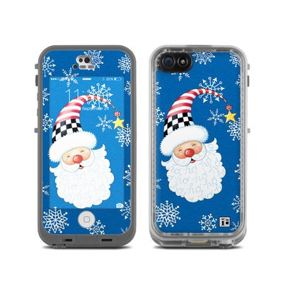 LifeProof iPhone 5C Fre Case Skin - Santa Snowflake