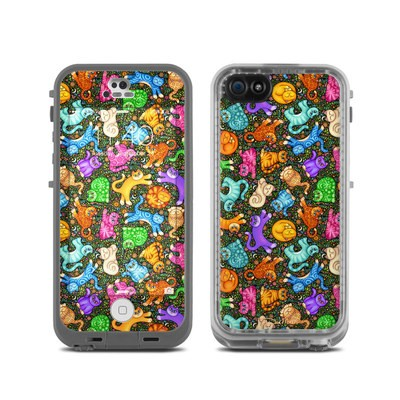 LifeProof iPhone 5C Fre Case Skin - Sew Catty