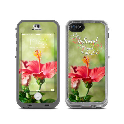 LifeProof iPhone 5C Fre Case Skin - She Believed
