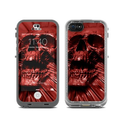 Lifeproof iPhone 5C Fre Case Skin - Skull Blood
