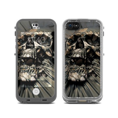 LifeProof iPhone 5C Fre Case Skin - Skull Wrap