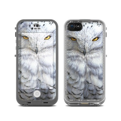 LifeProof iPhone 5C Fre Case Skin - Snowy Owl