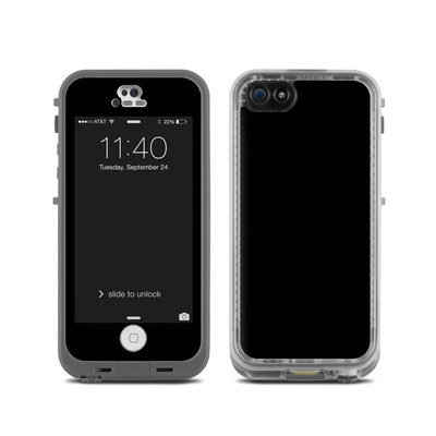 LifeProof iPhone 5C Fre Case Skin - Solid State Black