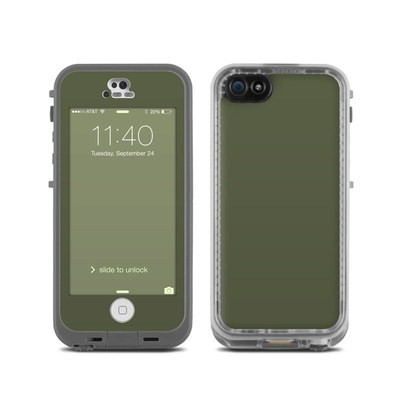 Lifeproof iPhone 5C Fre Case Skin - Solid State Olive Drab