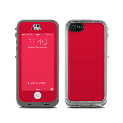 LifeProof iPhone 5C Fre Case Skin - Solid State Red