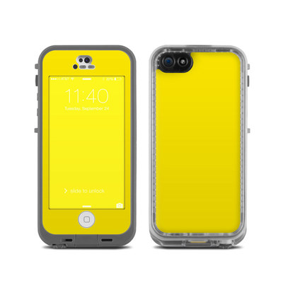 LifeProof iPhone 5C Fre Case Skin - Solid State Yellow