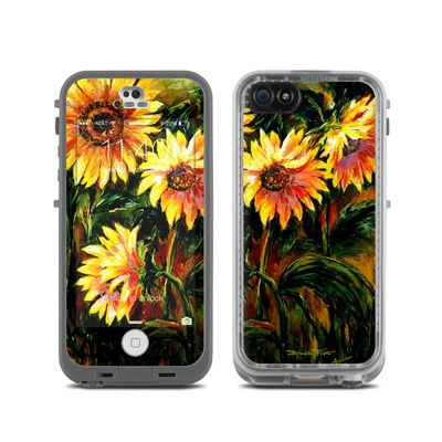 LifeProof iPhone 5C Fre Case Skin - Sunflower Sunshine
