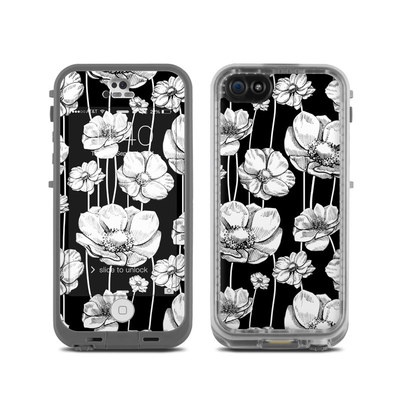 LifeProof iPhone 5C Fre Case Skin - Striped Blooms