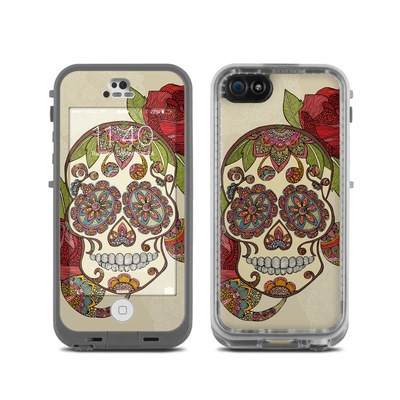 LifeProof iPhone 5C Fre Case Skin - Sugar Skull