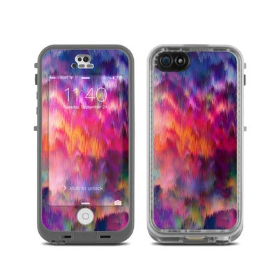 LifeProof iPhone 5C Fre Case Skin - Sunset Storm