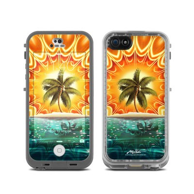 LifeProof iPhone 5C Fre Case Skin - Sundala Tropic