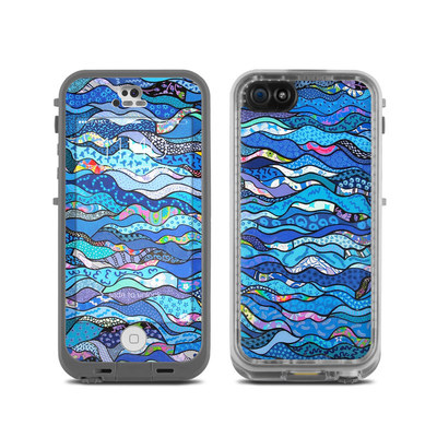 LifeProof iPhone 5C Fre Case Skin - The Blues