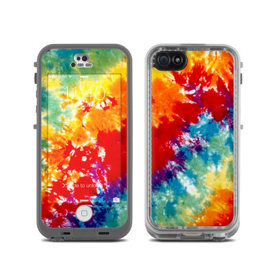 LifeProof iPhone 5C Fre Case Skin - Tie Dyed