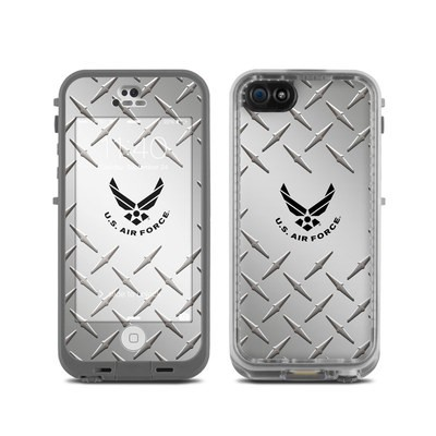 LifeProof iPhone 5C Fre Case Skin - USAF Diamond Plate