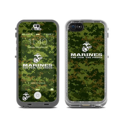 LifeProof iPhone 5C Fre Case Skin - USMC Camo