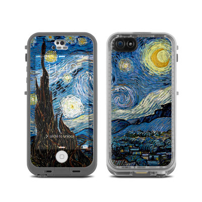 LifeProof iPhone 5C Fre Case Skin - Starry Night