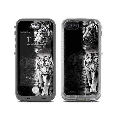 LifeProof iPhone 5C Fre Case Skin - White Tiger
