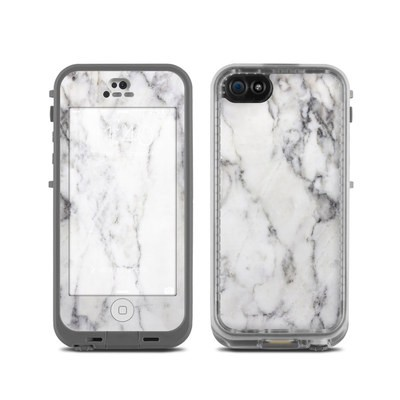 Lifeproof iPhone 5C Fre Case Skin - White Marble