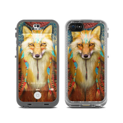 LifeProof iPhone 5C Fre Case Skin - Wise Fox