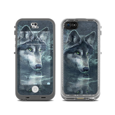 LifeProof iPhone 5C Fre Case Skin - Wolf Reflection