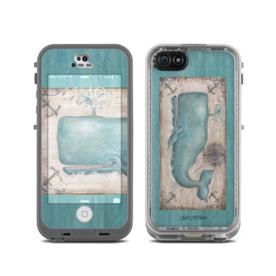 LifeProof iPhone 5C Fre Case Skin - Whale Watch