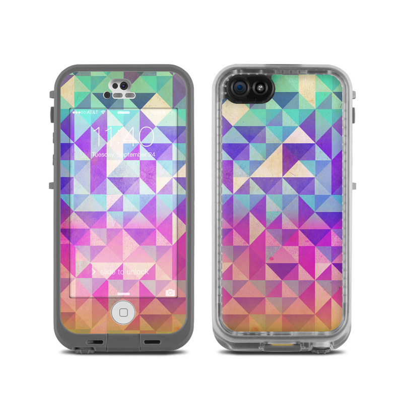 Lifeproof iphone 5c fre case skin fragments by brooke boothe