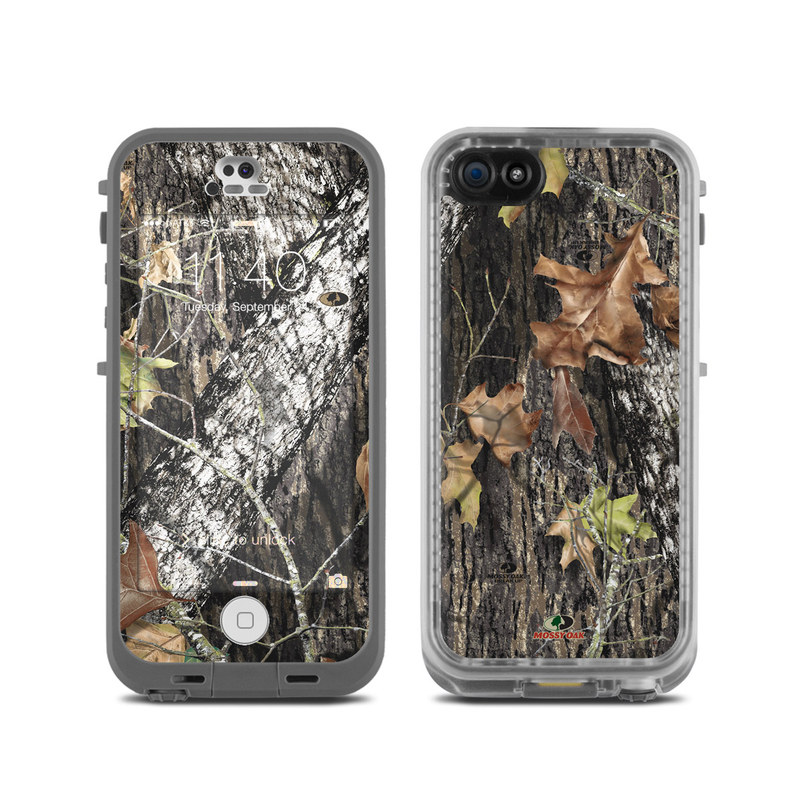 Lifeproof iphone 5c fre case skin break up by mossy oak decalgirl