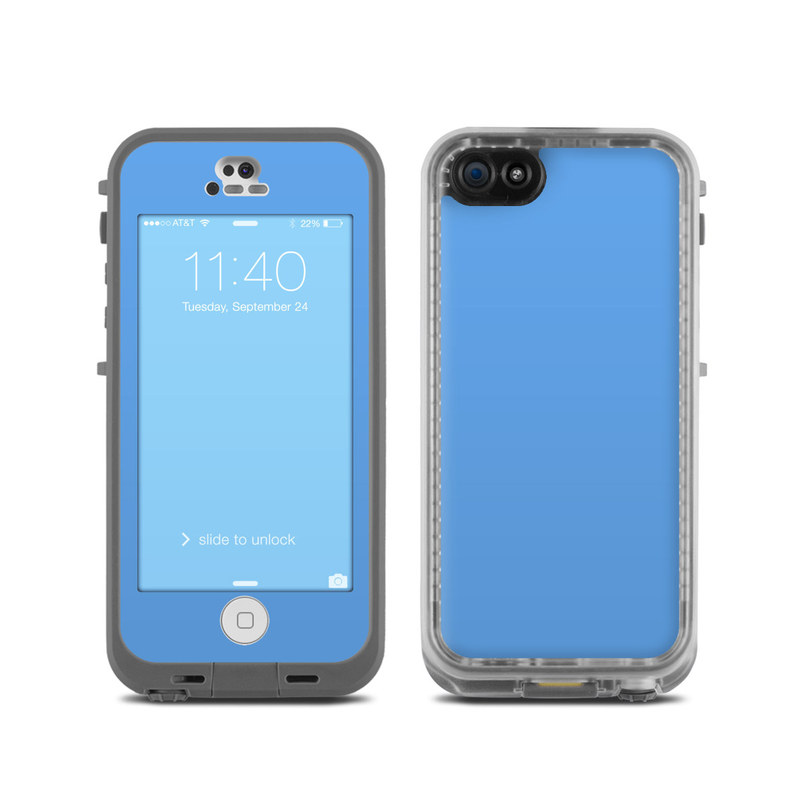 LifeProof iPhone 5C Fre Case Skin - Solid State Blue by ...