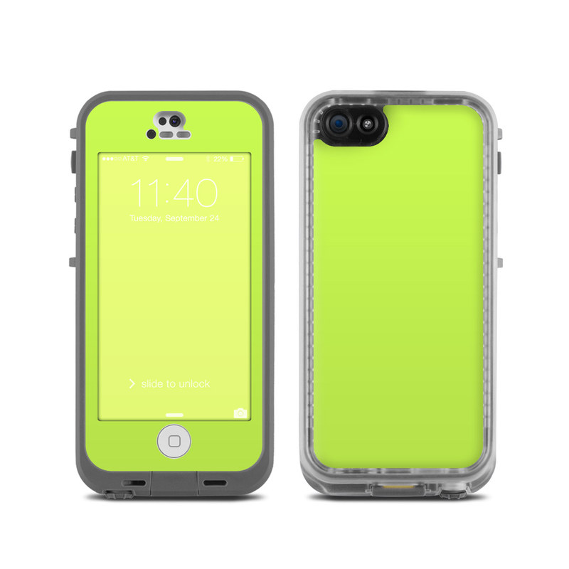 iphone 5c lifeproof lifeproof iphone 5c fre skin solid state lime by 11107
